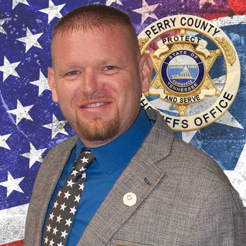 Perry County Sheriff Nick Weems